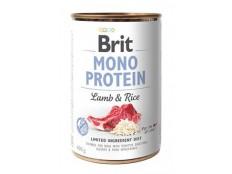obrázek Brit Dog konz Mono Protein Lamb & Brown Rice 400g