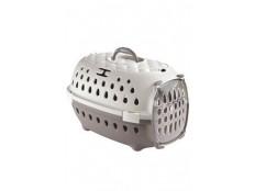 obrázek Přepravka pro psy TRAVEL SMART šedá/béžová Zolux