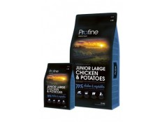 obrázek Profine NEW Dog Junior Large Chicken & Potatoes 15 kg