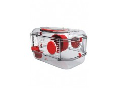 obrázek Klec křeček Rody 3 MINI červená 33x21x18cm Zolux