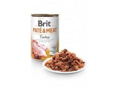 obrázek Brit Dog konz Paté & Meat Turkey 800g