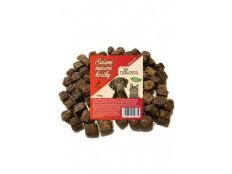 obrázek NATURECA pochoutka Masové kostky-Kachna, 100%maso 150g