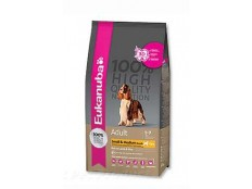 obrázek Eukanuba Dog Adult Lamb&Rice Small&Medium 2,5kg