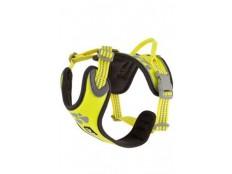 obrázek Postroj Hurtta Weekend Warrior neon citrónový 45-60cm