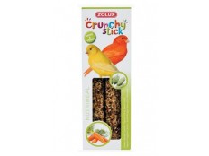 obrázek Crunchy Stick Canary Zrní/Mrkev 2ks Zolux