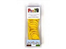 obrázek Botička ochranná Pawz kaučuk XXS žlutá 12ks