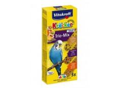 obrázek Vitakraft Bird Kräcker Trio Mix budgies 3ks