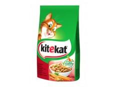 obrázek Kitekat Dry hovězí se zeleninou 1,8kg new