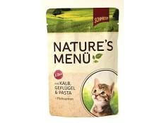 obrázek Schmusy Cat Nature Menu kapsa Junior telec+drůbež 100g