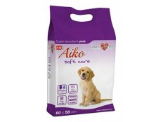 obrázek Plenky pro psy Aiko Soft Care 60x58cm 14ks
