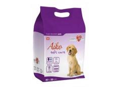 obrázek Plenky pro psy Aiko Soft Care 60x58cm 30ks