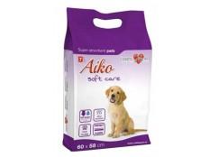 obrázek Plenky pro psy Aiko Soft Care 60x58cm 7ks