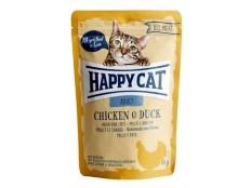 obrázek Happy Cat kapsa All Meat Adult Huhn&Ente 85g