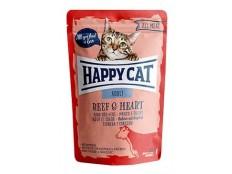 obrázek Happy Cat kapsa All Meat Adult Rind & Herz 85g