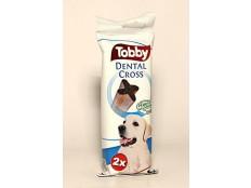obrázek Pochoutka dentální TOBBY DENTAL CROSS L 100g 2ks