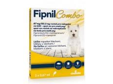 obrázek Fipnil Combo 67/60,3mg S Dog Spot-on 3x0,67ml