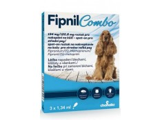 obrázek Fipnil Combo 134/120,6mg M Dog Spot-on 3x1,34ml