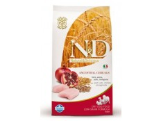 obrázek N&D Low Grain DOG Adult Mini Chicken & Pomegr 2,5kg