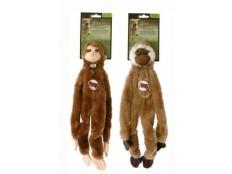 obrázek Hračka pes Opice pískací 41cm Skinneeez