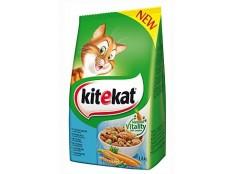 obrázek Kitekat Dry s tuňákem a zeleninou 1,8kg