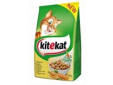 obrázek Kitekat Dry kuřecí se zeleninou 1,8kg