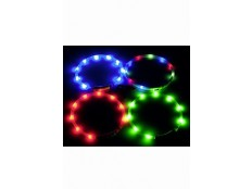 obrázek Obojek USB Visio Light 70cm modrý KAR 1ks