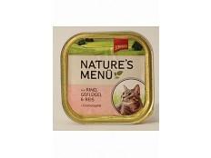 obrázek Schmusy Cat Nature Menu vanička hovězí+drůbež 100g