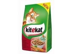 obrázek Kitekat Dry hovězí se zeleninou 1,8kg