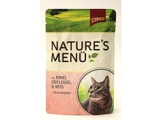 obrázek Schmusy Cat Nature Menu kapsa hovězí+drůbež 100g
