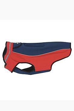 Obleček Softshell Tm.modrá/Červená 53cm XL KRUUSE