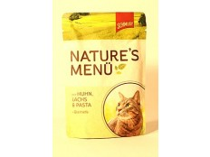 obrázek Schmusy Cat Nature Menu kapsa kuře+losos 100g