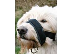obrázek Náhubek fixační nylon podložený pes L 18-30cm TR