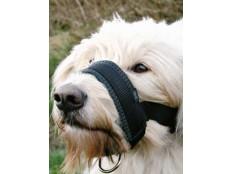 obrázek Náhubek fixační nylon podložený pes XXL 28-38cm TR