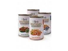obrázek Brit Boutiques Gourmandes  Salmon Bits&Paté 400g
