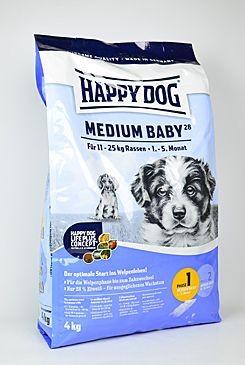 Happy Dog Supreme Jun. Medium Baby 28 (4T- 5M) 4kg