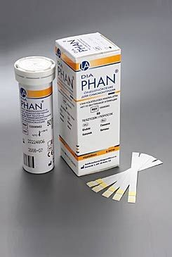 Diagnostické proužky DiaPhan 50ks