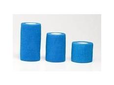obrázek Obinadlo elast. HS samoadhes. 7,5cmx4,5m modré 1ks