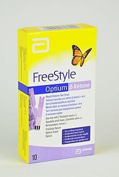 Proužky FreeStyle Optium ß-ketone 10ks Abbot