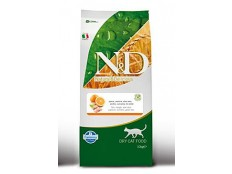 obrázek N&D Grain Free CAT Adult Fish & Orange 10kg