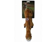 obrázek Hračka pes Liška pískací 38cm Skinneeez