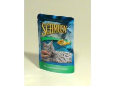 obrázek Schmusy Cat kapsa Fish tuňák v želé 100g