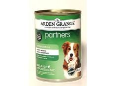 obrázek Arden Grange Partners Dog Lamb konz.  395g