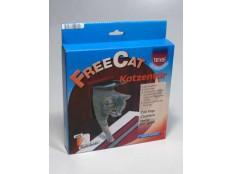 obrázek Dvířka kočka plast Hnědá 2P Freecat Classic Trixie 1ks