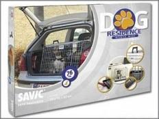 obrázek Klec do auta Dog Residence mob. zkos. 76x53x61cm Savic