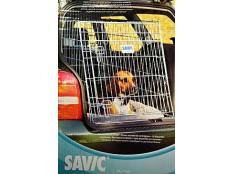 obrázek Klec do auta Dog Residence mob.zkos.š61xhl91xv71cm Sav