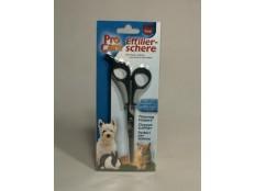 obrázek Nůžky efilační jednostranné pro psy/kočky  18cm TR