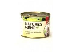 obrázek Schmusy Cat Nature Menu konzerva kuře+losos 190g