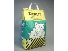 obrázek ZVERLIT zelený hrubá Podestýlka kočka 6kg