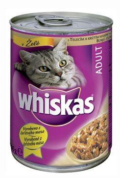 Whiskas konzerva krůta 400g