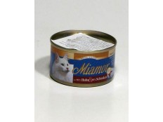 obrázek Miamor Cat Filet konzerva kuře+šunka 100g